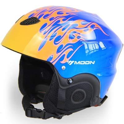 Wekbang Männer/Frauen Skihelm Snowboard Schneemobil Helm Skateboard Moto Fahrradhelm Sportschutzkappe Maske Winter Schnee Warm Fleece -