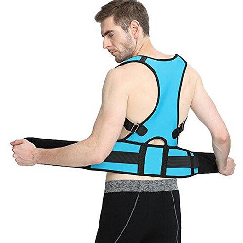 SHIQUNC Posture Corrector, Rückenhalter Haltungskorrektur, Buckel verbessern Rücken Strecken R-214 Für Kinder und Erwachsene Größe(S-XXL), XL