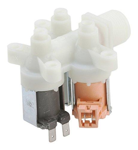DREHFLEX® - Ventil/Einlassventil/Magnetventil/Wassereinlassventil für diverse Waschmaschine von AEG/Electrolux auch diverse Geräte von Privileg/Quelle - passend für Teile-Nr. 407136019-4/4071360194