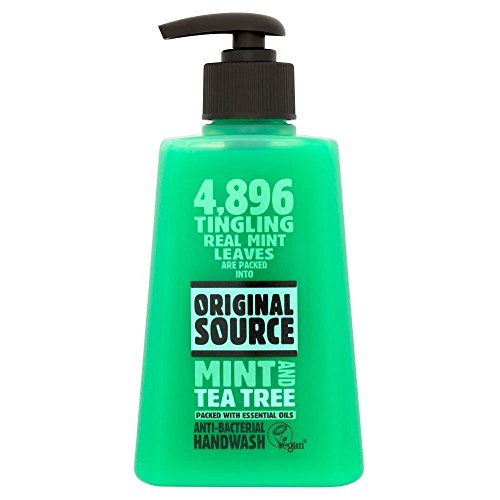 Original Source Mint & Tea Tree Anti Bacterial Hand Wash (250ml) – Pack of 6