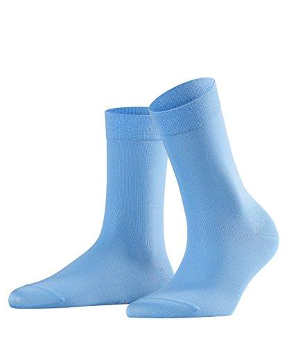 FALKE Damen Cotton Touch hautschmeichelnde Socken, Blickdicht, pacific, 39-42