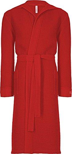 Taubert Kimono mit Kapuze Länge 120cm (L, rot)