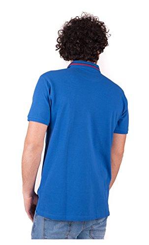 Polo Trussardi Jeans uomo manica corta bluette 52T05XX - Bluette Bluette