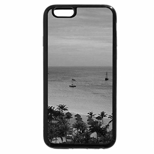 iphone-6s-plus-case-iphone-6-plus-case-black-white-radisson-resort-on-aruba-at-sunset