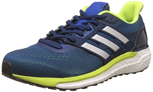 adidas Herren Supernova M Sneakers Blau (Blue / Silver Metallic / Solar Yellow)