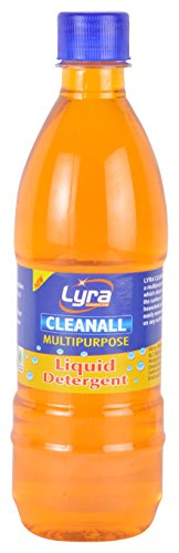 Lyra Cleanall Multipurpose Liquid Detergent - 500 ml (Brown)