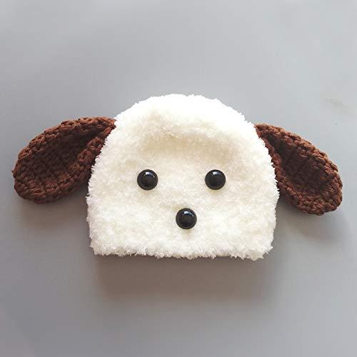 (ZMMAwinter pet Hut Fotografie Helm hündchen ganze Hund perücke neuen dekorativen Hund süß Kopftuch,XL,sechs)
