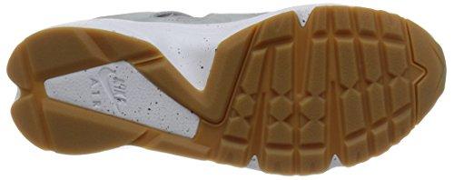 Nike Air Huarache International Prm, Scarpe da Corsa Uomo Grigio / Bianco (Wlf Gry / Wlf Gry-Smmt Wht-Gm Lg)