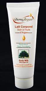 Dermargan - Lait Corporel Hydratant à L'Huile D'Argan - Volume : 125 ml