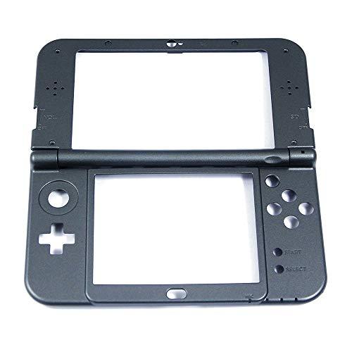 Original Frontabdeckung B + C für Nintendo New 3DS XL New3DS XL New3DSXL Spielkonsole, Ersatzteile, Zubehör, Schwarz, 2 Stück