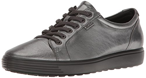 Ecco Damen Soft 7 Sneaker, Grau (Dark Shadow), 38 EU