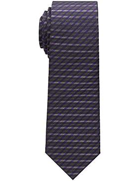 ETERNA Krawatte schmal gestreift