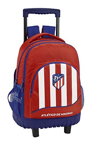 Atletico De Madrid 611845818 2018 Mochila Escolar 45 cm, Rojo