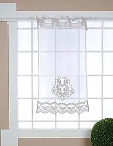 Tenda Finestra Blanc Mariclo 60 X 120 Cm Colore Grigio