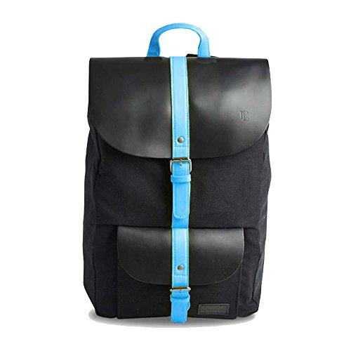 forbes-lewis-lincoln-canvas-unisex-daypack-schwarz-schwarz-blau