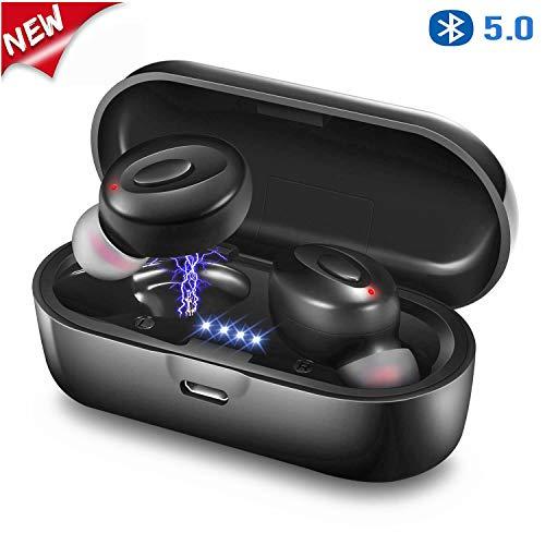 AIROPI Auricolari Bluetooth 5.0 Wireless Stereo Senza Fili Sport in Ear con Custodia da Ricarica...