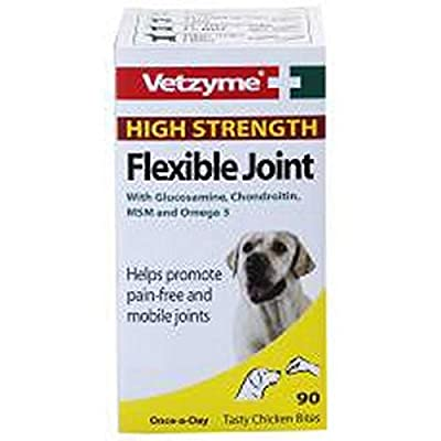 Bob Martin Vetzyme High Strength Flexible Joint, 30 Tablets from Bob Martin