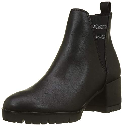 MARCO TOZZI Damen 25857-31 Chelsea Boots Schwarz (Black Ant.Comb 096) 38 EU