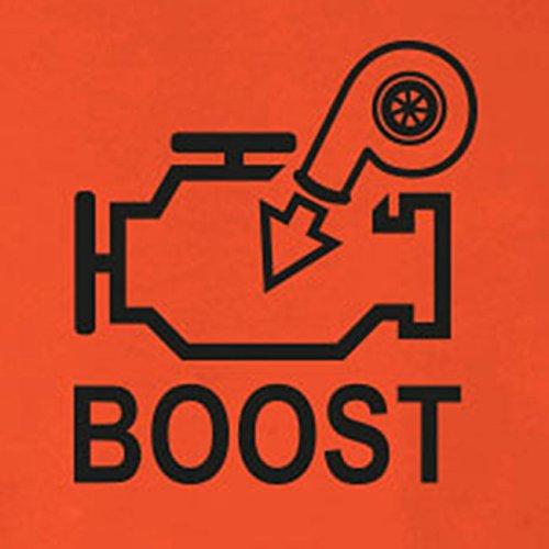 Turbo Boost - Stofftasche / Beutel Braun