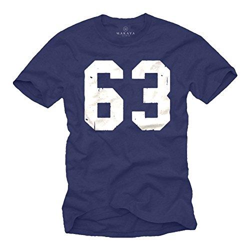 Mücke 63 T-Shirt für Herren - XXXXXL