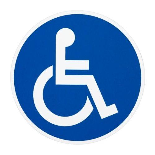 Hilfe Für Rollstuhlfahrer (Aufkleber
