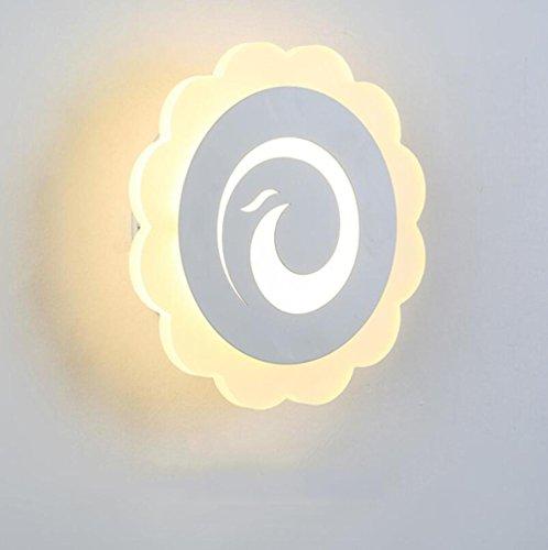 DENG Appliques Acrylique personnalité Moderne LED Abat-Jour Éclairage Intérieur Chevet Restaurant Chambre Vivant Chambre escaliers