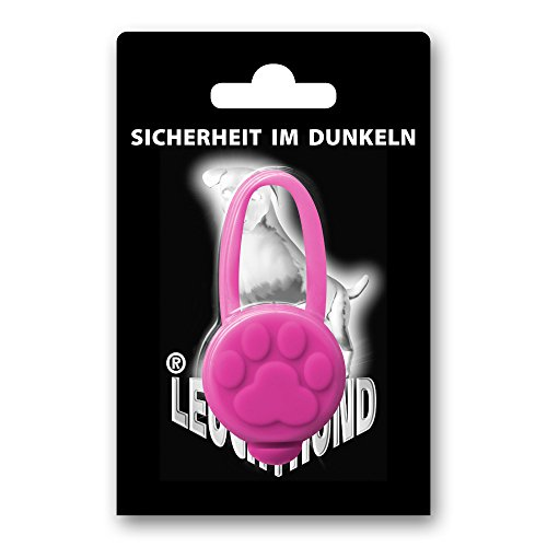 6 Stück Hunde Leuchtanhänger Leuchthalsband Led Hundehalsband LH10 Blinkie von Leuchthund® Led Anhänger (6 Stück gemischt – 1 je Farbe) - 6