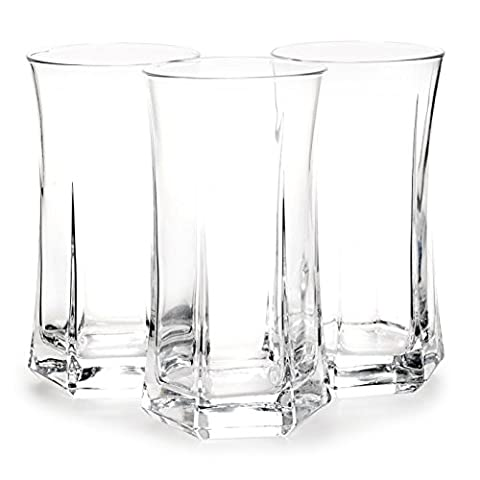 Bormioli Rocco Large Hi Ball Tumblers Drinking Glass Glasses Cups - Set of 12 - Made In Italy