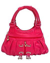Vintage Stylish Ladies Handbag Pink(bag 121)