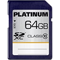 Platinum 64 GB Class 10 SDXC Speicherkarte