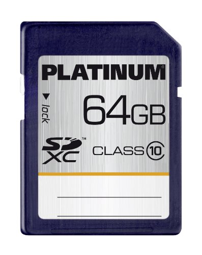 Platinum 64 GB Class 10 SDXC Speicherkarte - 6mb Flash-speicher-karte