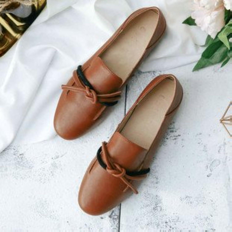 Xue Qiqi Scarpette Retrò scarpe singolo piatto femmina bassa bassa bassa con due in bianco e nero pantofole, donna casual,...   Garanzia di qualità e quantità    Uomini/Donne Scarpa  851264