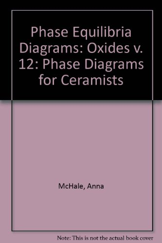 Phase Equilibria Diagrams: Oxides v. 12: Phase Diagrams for Ceramists