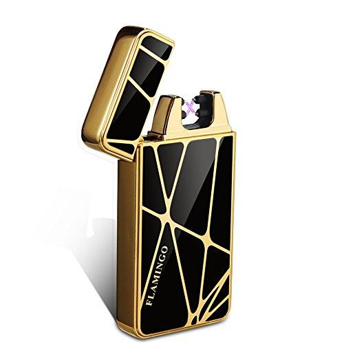 Kivors&reg geometrische Elektronisches Feuerzeug tragbar USB aufladbar dopple Lichtbogen tragbar