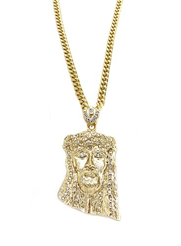 nidabi-jesus-piece-collier-homme-pendentif-avec-chaine-metal-dore-60-cm-cs10041g