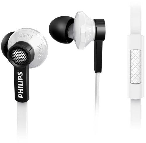 Philips TX1WT/00 In-Ear Kopfhörer mit Mikrofon weiß