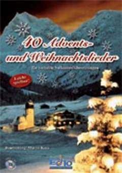 40 ADVENTS + WEIHNACHTSLIEDER - arrangiert für Zither , Hackbrett , Gitarre [Noten / Sheetmusic]