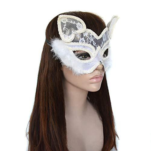 LYMASK Halloween Maske Maskerade Maske Katzenmaske Venezianischen Masken Kostüm Party Maskenball Valentinstag Party Prinzessin - Venezianischen Karneval Prinzessin Kostüm