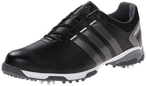 Adidas Herren AdiPower TR Golf Schuh Core Black/Iron Metallic/White