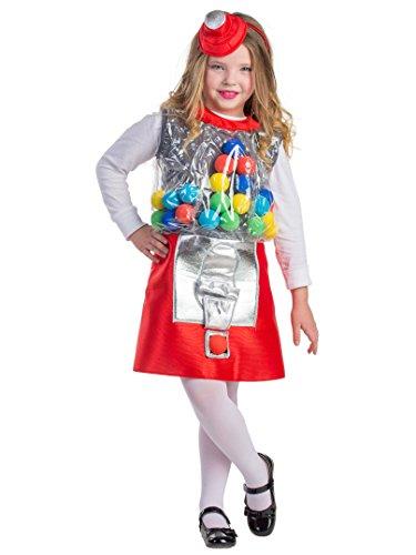 Dress Up America Gumball Machine Kostüm für - Kostüm Ball Dress Up Spiele