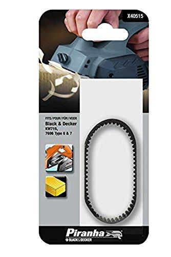 Black & Decker X40515-XJ Antriebsriemen, schwarz