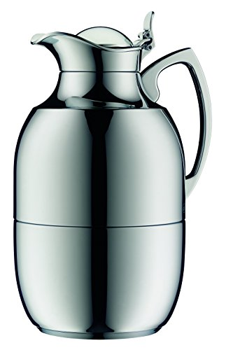 Alfi 0572000150 Juwel Isolierkanne, Messing, 1,5 L, chrom