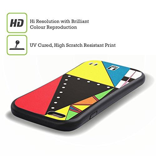 Head Case Designs Disco Motifs Des Années 80 Étui Coque Hybride pour Apple iPhone 5 / 5s / SE Mélangé
