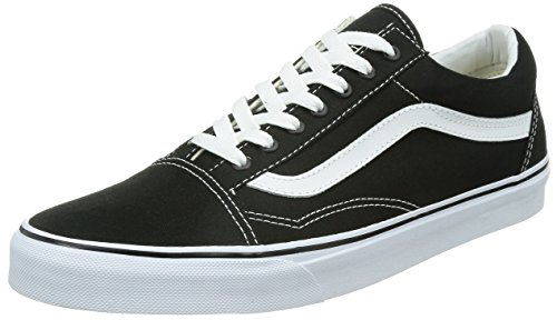 Vans U Old Skool, Baskets mode mixte adulte, Noir, 40.5