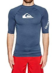 Quiksilver All Time Lycra Manches Courtes UPF 50 Homme