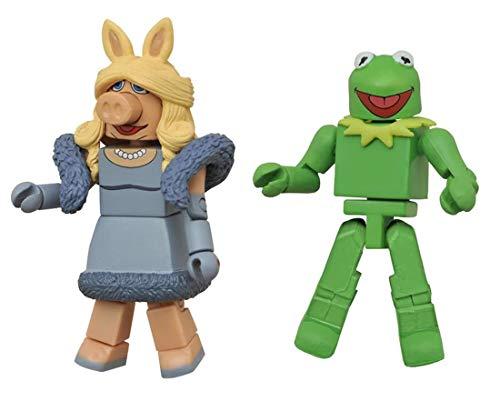 Minimates- The Muppets- Kermit & Miss Piggy