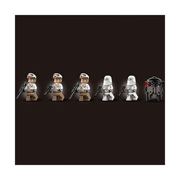 LEGO Star Wars Action Battle Difesa della Echo Base con 2 Snowtrooper e 3 Rebel Trooper, Set di Costruzioni per Ragazzi… 4 spesavip