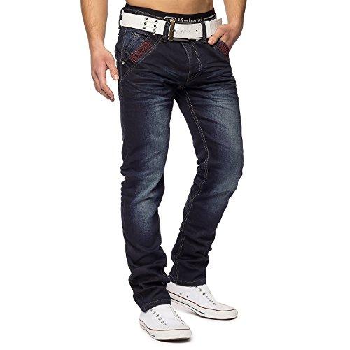 Herren Vintage Jeans George ID1349 Regular Fit , Farben:Blau, Größe Jeans:W29,Blau,W29 (Herren Pants George)