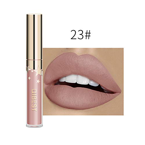 Momoxi Sexy langanhaltende Lippenwäsche-flüssiger Lippenstift-wasserdichter Lippenglanz-Make-up