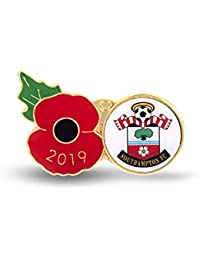 The Royal British Legion Southampton Poppy Football Pin 2019